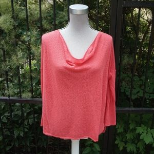 Anthropologie Guinevere pointelle top size XS